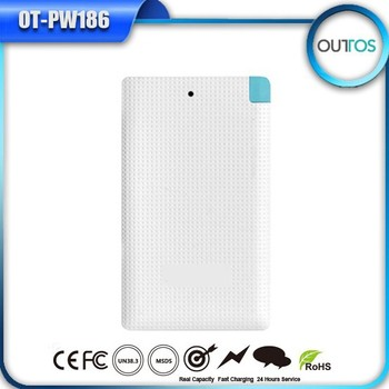 New Year Gift Customized Power Banks 4000mAh Battery for Samsung Mobile Phone