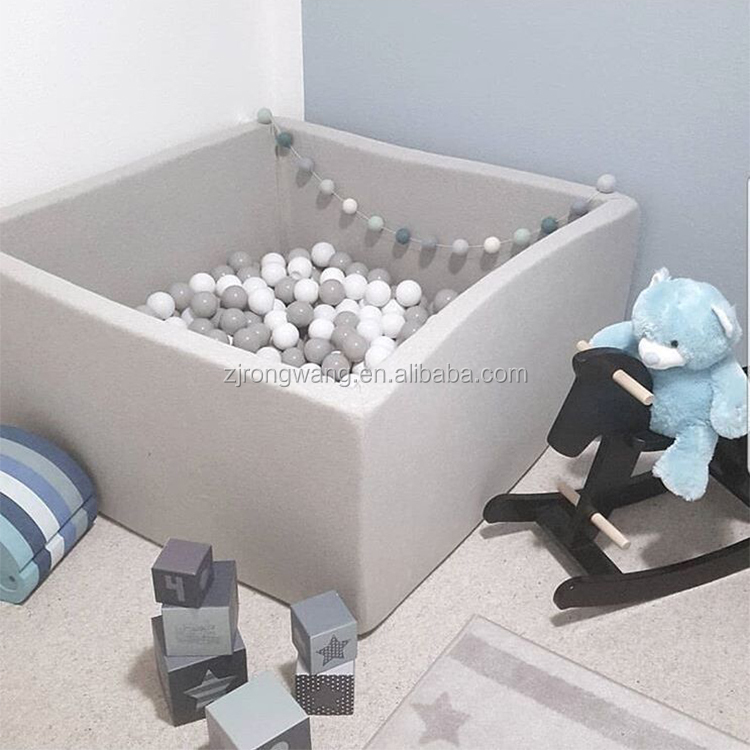Hot sale indoor ocean ball pool baby toy game dry pool washable