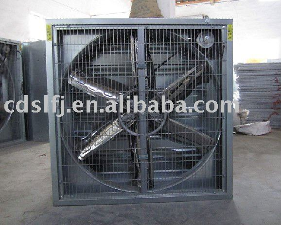 Industrial belt driven exhaust fans ,44000m3/h air flow