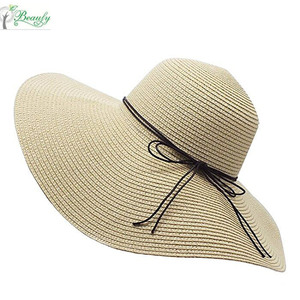 7c83643476a30 Beach Straw Floppy Hat