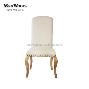 antique American oak dining chair upholstered nail studded dining chair,chair furniture dining