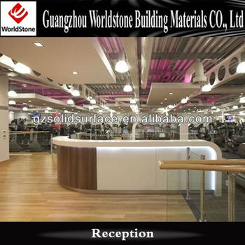 shopping mall lobby reception desk information desk design