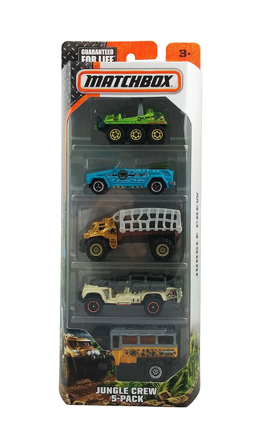 Matchbox, 2016 Jungle Crew 5-Pack