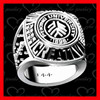 Fashion high quality school ring /used class rings /college ring