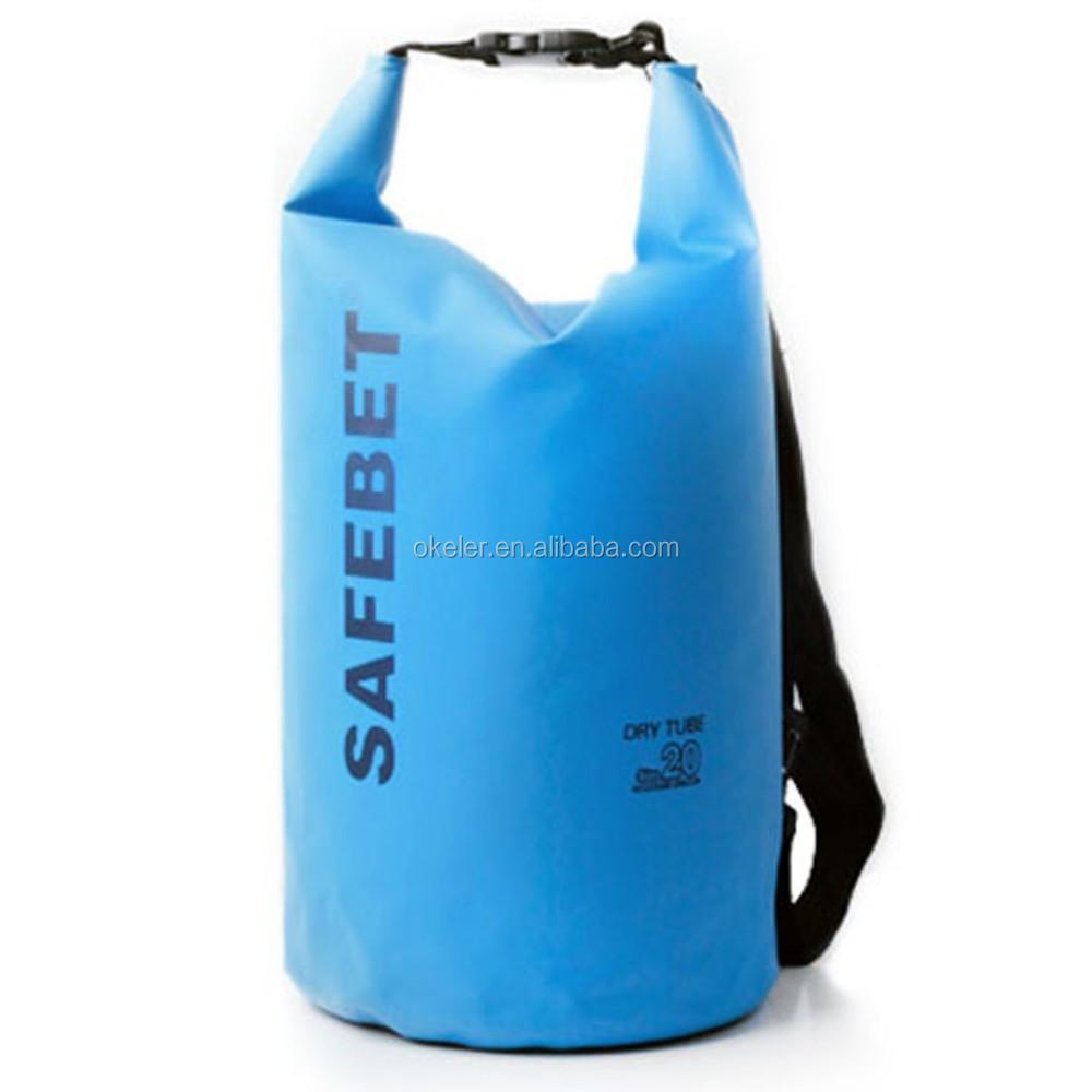 20L Dry Bag , PVC Waterproof bags for Drifting Canoe Floating Kayaking Camping