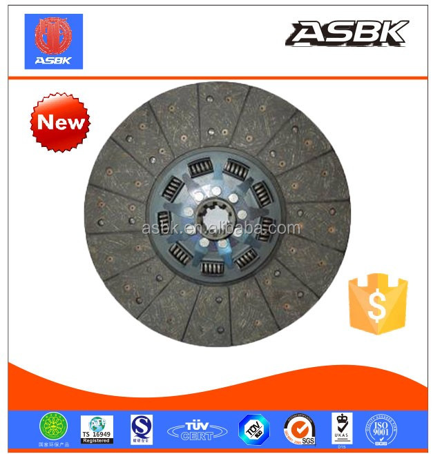 Chinese manufacturer clutch disc auot part hot sale for 0190 3855 with high quality