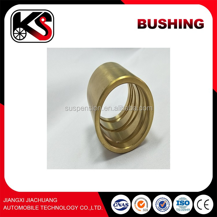 Stainless steel king pin fastener bushing