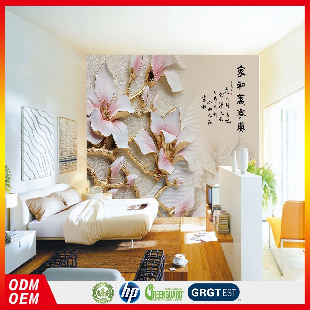 Peach white flower relief wall art wallpaper murals 3d chinese peach white flower relief wall art wallpaper murals 3d chinese wallpaper murals for modern bed room amipublicfo Choice Image