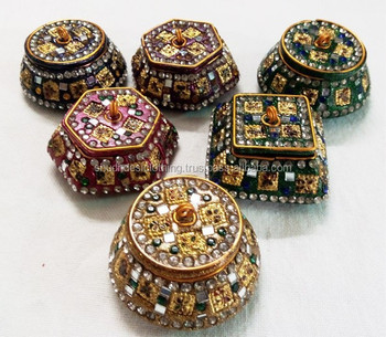 Decorative Gift Boxes Trinket Boxes Pill Boxes From India Buy Gift Boxes To Decorate Jeweled Trinket Boxes Cheap Trinket Box Product On