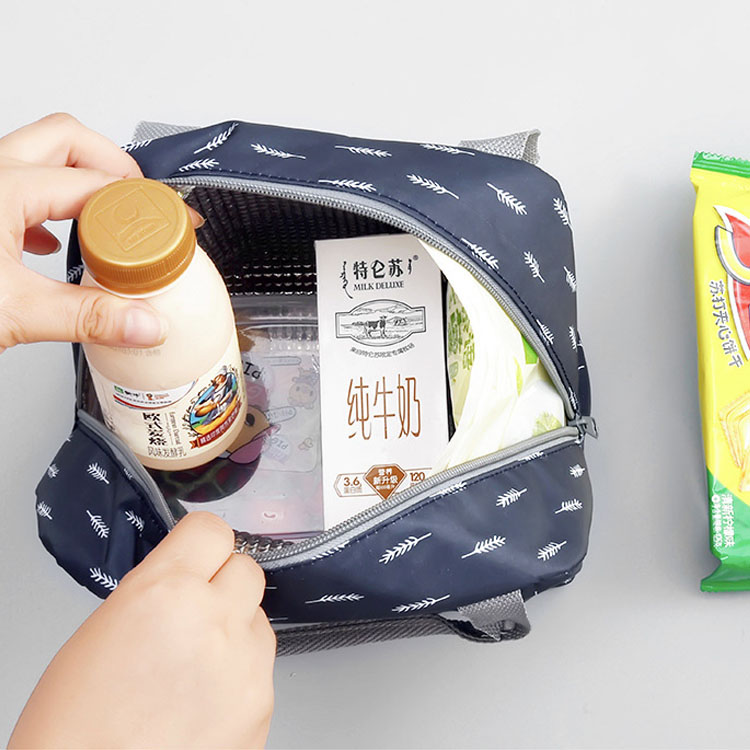 Freezable Best Quality Insulated Foldable Tote Lunch Cooler Bag