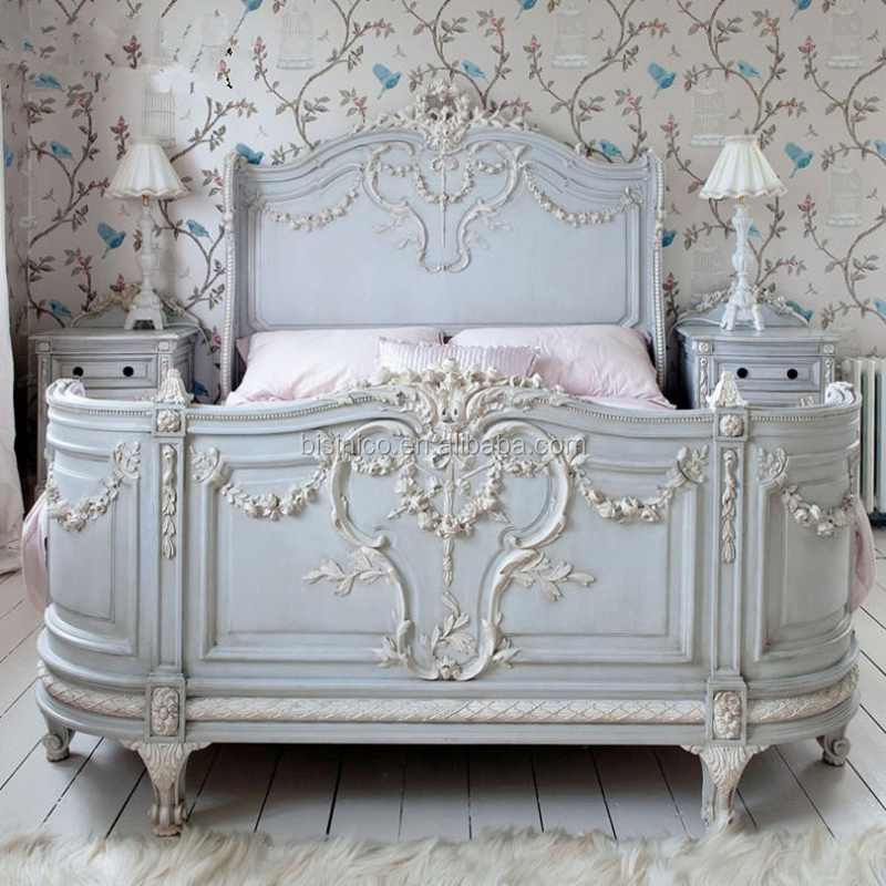 French Provincial Vintage Grey Blue Wooden Chest Of Drawers Bedroom  Furniture/ European Antique Hand Carved Commode Cabinet, View Chest Of  Drawers ...