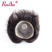 Factory price Indian remy human hair toupee / wig for men