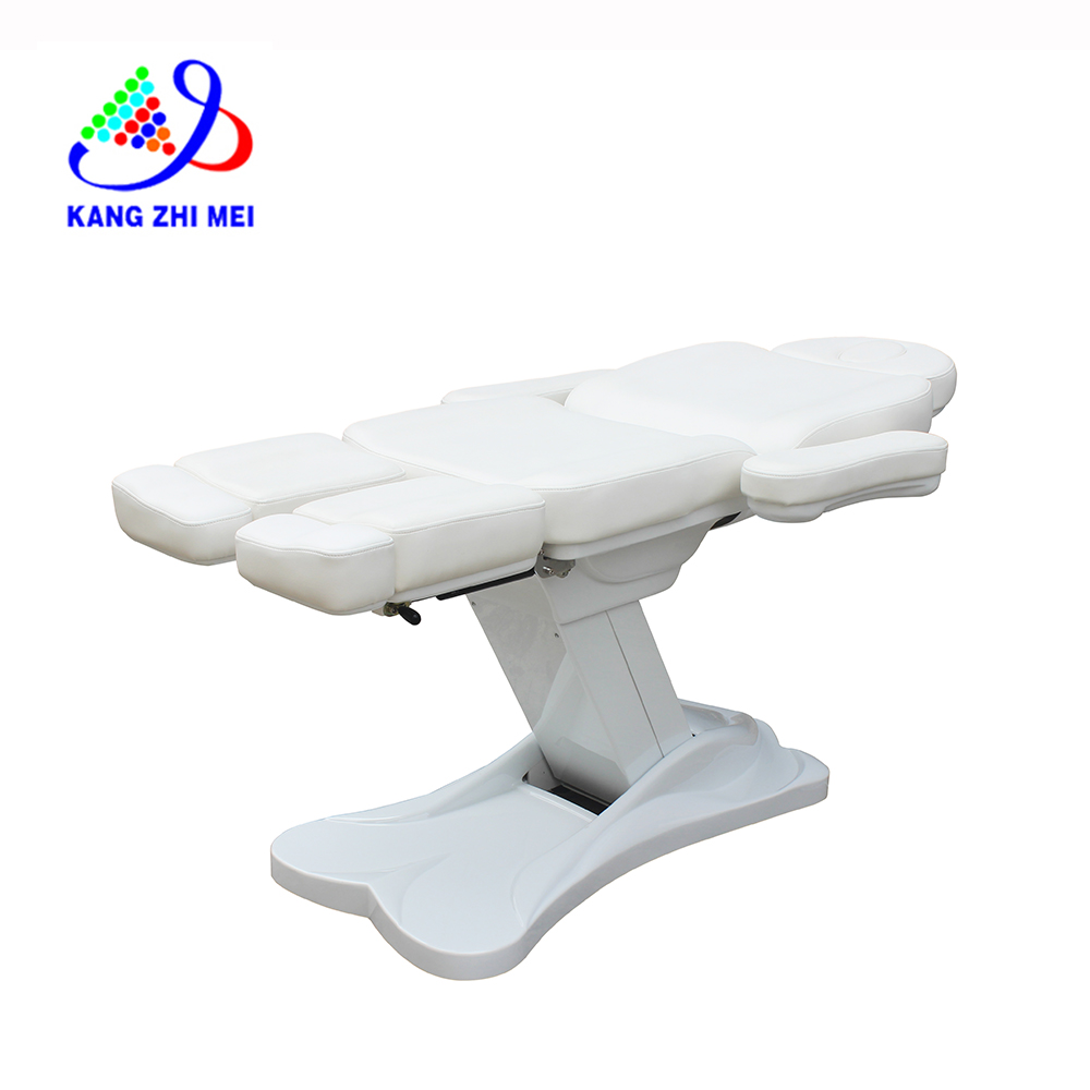 2019 new electric facial chair of led facial lamp and electric facial bed KM-8835