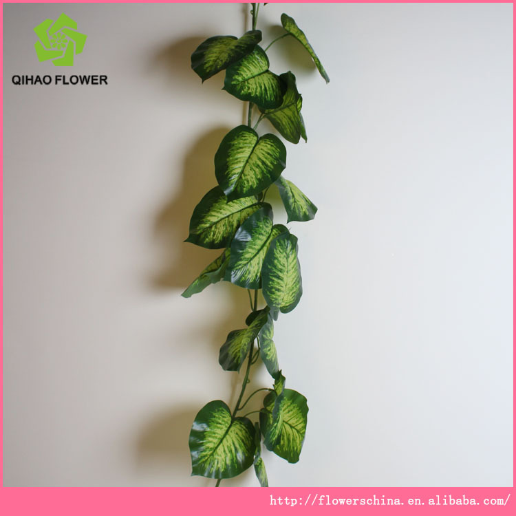 Artificial grape vines ivy vines for garden wall for Artificial grape vines decoration