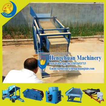 Wholesale China Supplier 1Tons Per Hour Portable Alluvial/Placer ...