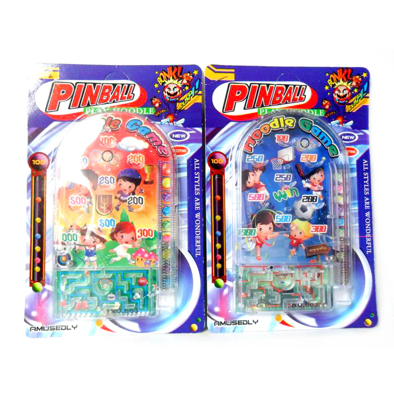 Kids funny scoops throwing pinball game for play