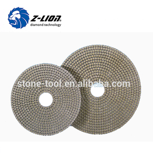 7 Inch Diamond Electroplated Polishing Pads for hard granite and gemstone