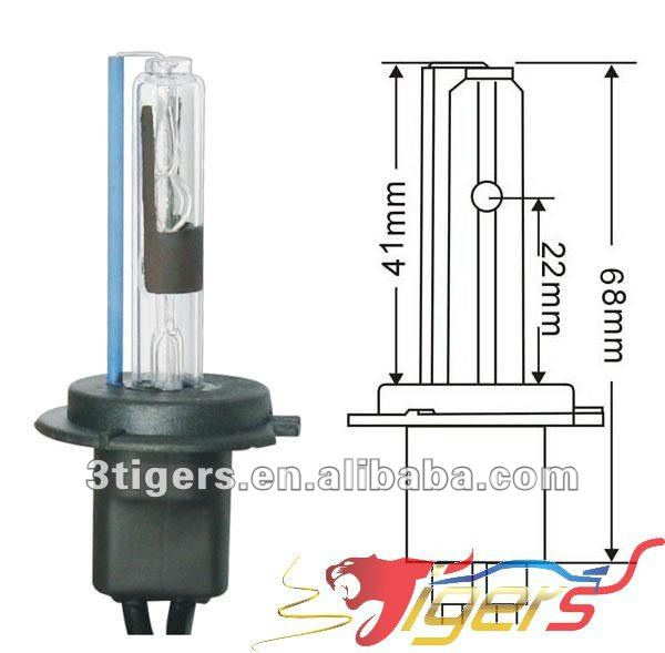 xenon lamp H7R 35W 8000K yellow xenon bulbs