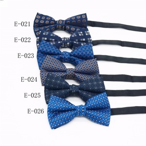 Factory direct supply custom embroidered bow tie,self bow tie silk,man and women party bow tie