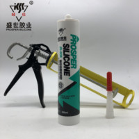 Fire Rated Adhesive Red High Temp RTV Silicone Gasket Maker