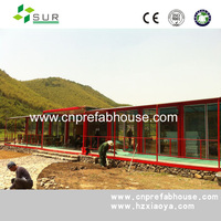 over-water prefabricated bungalow bali/20ft container house CE