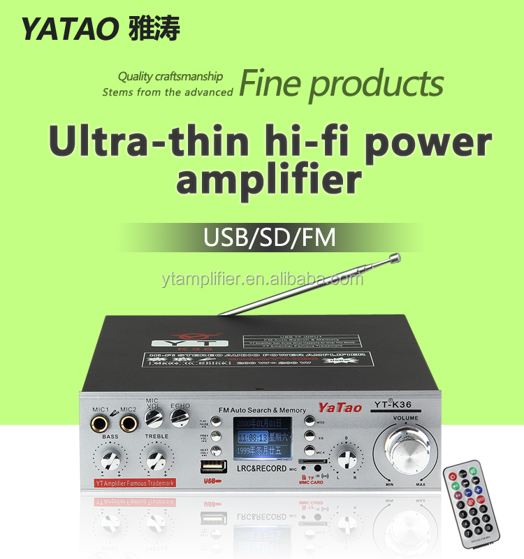Mp3 Audio Preamplifier Yt-k36 Support Karaoke!!! Hot Support Fm/tf/usb -  Buy Fm Usb Mp3 Board,Karaoke Machine Usb,Dvd Mp3 Car Stereo Usb Product on