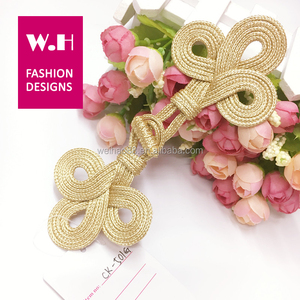 Fahion chinese knot buttons knot design for garments \bag