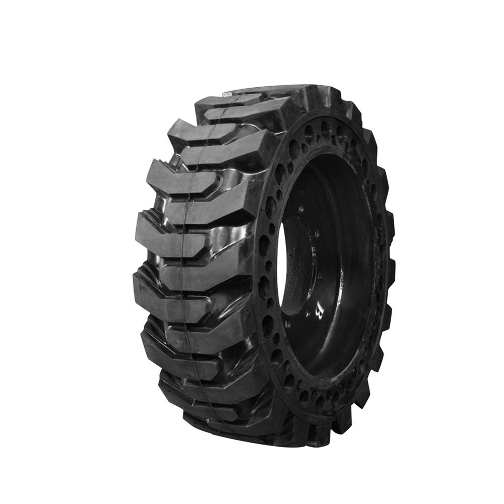 China high quality solid rubber skid steer tires for sale