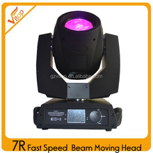 2016 Update version faster version 7R beam moving head 230beam