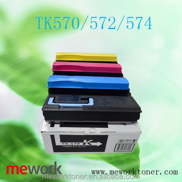 NEW Cartridge paint color toner TK570/572/574 for KYOCERA FS-C5400DN