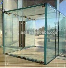 Seguridad vidrio laminado precio para la puerta cristal de - Precio del vidrio ...