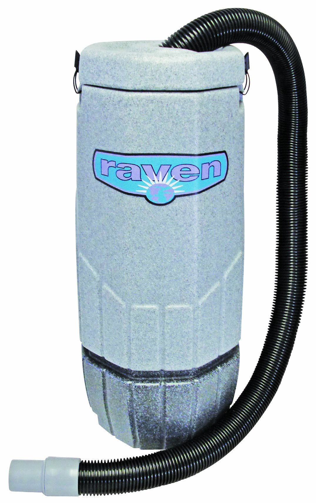 Sandia 20-2000 XP-3 Whisper Raven Commercial Backpack Vacuum, 10 Quart Capacity