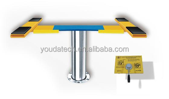 single post for lift car / single post for car wash/ portable single car lift