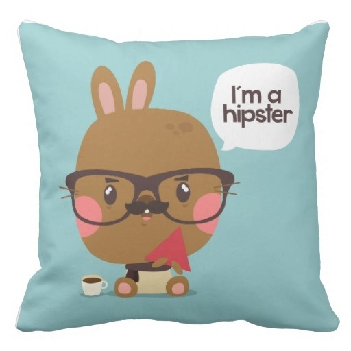 Cold I M To Hipster Pillow Case (Size: 20