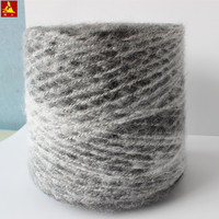 Color gradient acrylic wool blended brushed sweater yarn napping fancy knitting yarn