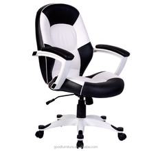 OF5058M middle back office chair with soft pading arm rest,nice computer chair
