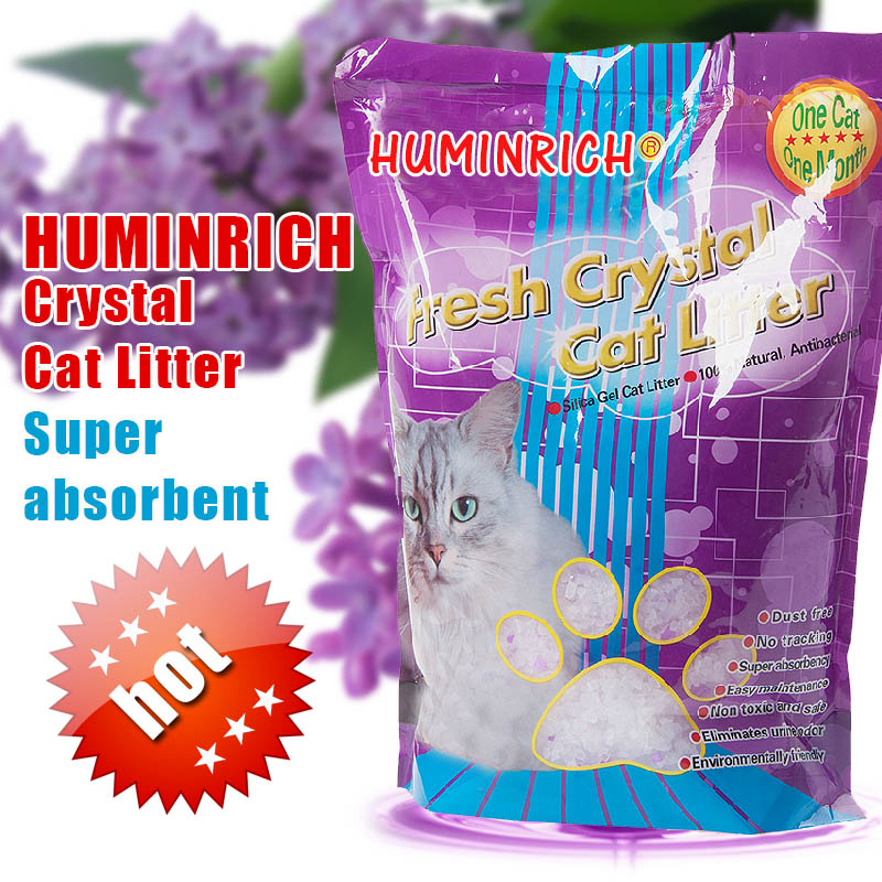 Huminrich Cat Sand For Kittens Silica Cat Litter Bulk