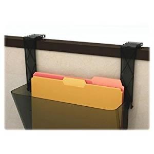 DEF391404 - Deflect-o Plastic Partition Brackets Break Resistant-Black