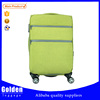 3 pieces 20 24 28 inch fabric luggage , high end trolley luggage for business and travel