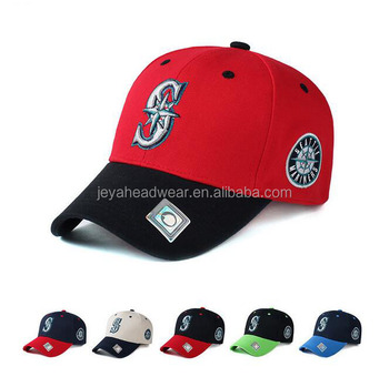 Letter S Adjustable Cap Men Women Outdoor Sports Hat Solid Fashion Seattle  Mariners Snapback Casual Gorras 19780892d4