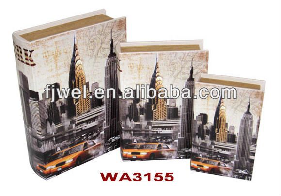New York City Design Book Storage Box