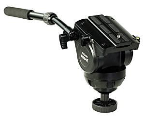 "PROAIM 53/"" Professional Aluminum Tripod Stand with 100mm Bowl Head /& Rubber Tripod Shoes for DSLR Video Camera Jib Cranes up to 80kg //176lb P-TP-100-B Storage Bag"