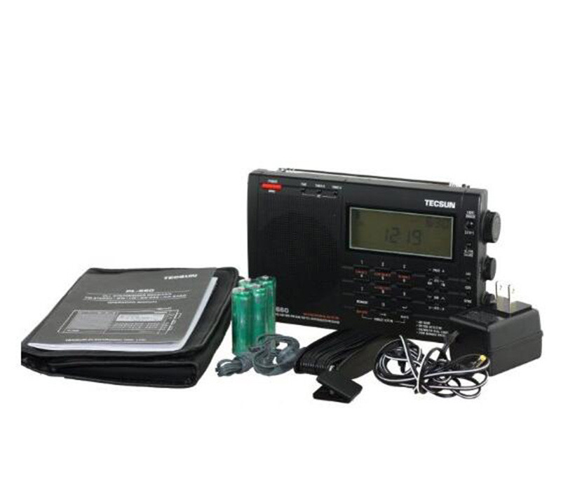 Wholesale 100% Original TECSUN PL 660 Radio PLL SSB VHF AIR