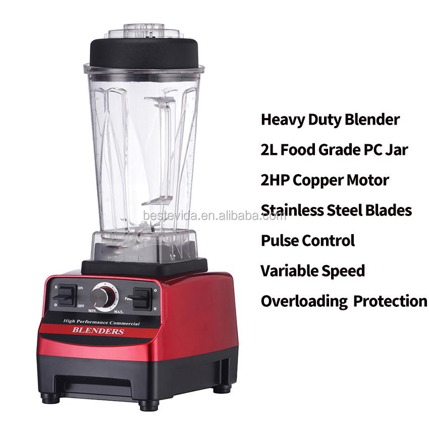 Blender Motor Spare Parts Bottle Blender With Stainless