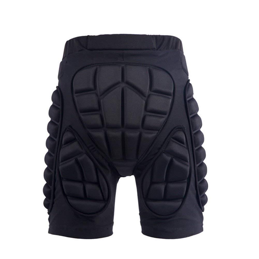 EBRICKON Hip Protective Short Pad Skating Snowboard Skiing Shorts Roller Padded Protective Gear Body Armor Pants Riding Shorts