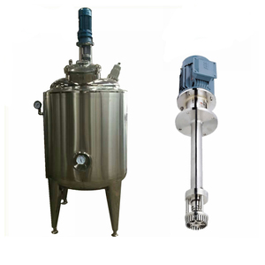 large scale jacket mixing tank ,small powder mixing tank ,high shear tank for mixing homogenizing high speed cutting