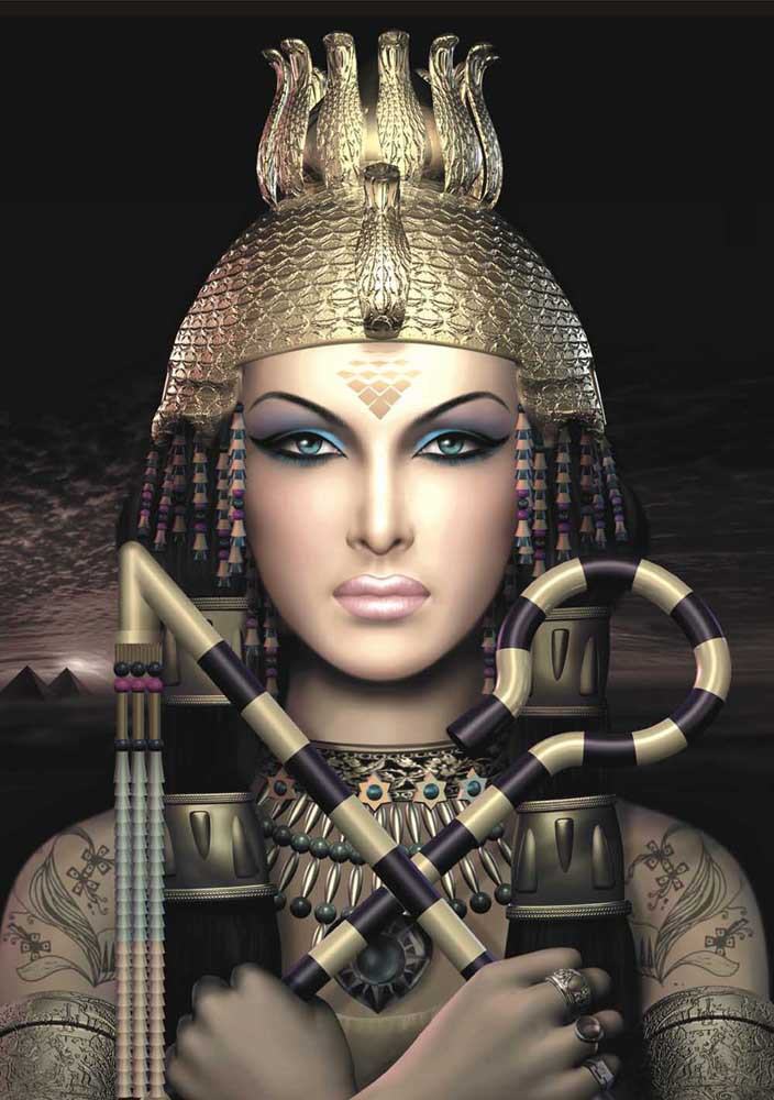 queen egyptian art wallpaper - photo #10