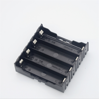 4 Cell Parallel Li-ion 18650 3.7V lithium battery holder with PC pins