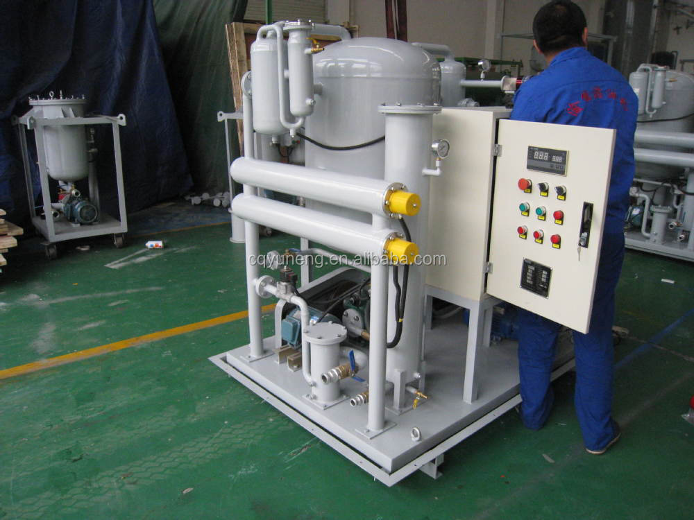Lubrication Oil Purification Machinery oil change system YUNENG products