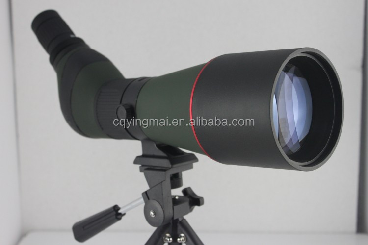 SP13 20-60X80 long distance spotting scope with large objective lens
